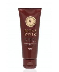 Гель-автозагар Bronzexpress (тональный гель для лица) /Gel Bronz'Express